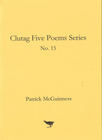 No. 15 Five Poems by Patrick McGuinness